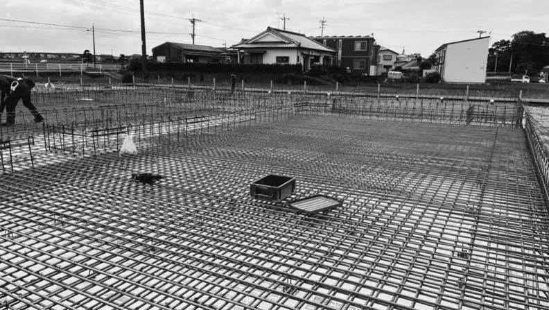 鹿児島県出水市で保育園建設中